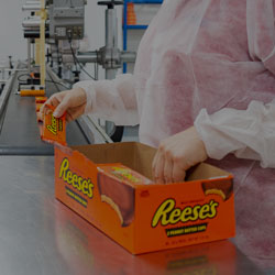 Confectionary and solid food packing services from Codex Contract Packing