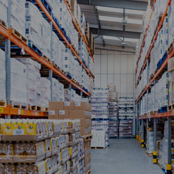 Secure on-site storage services for copacking clients