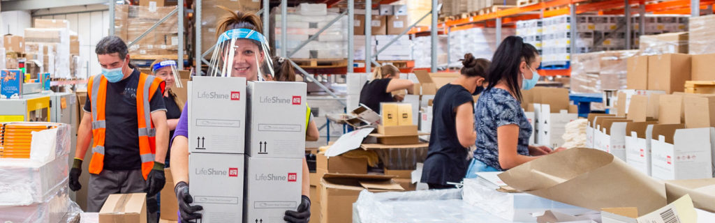 Inside our Bedfordshire co-packing facility & distribution centre